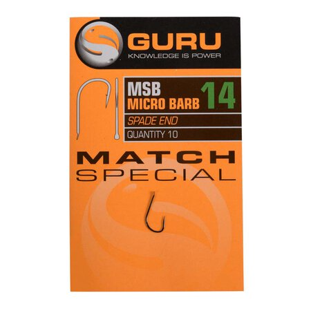 Guru - Match Special Barbed hook - Size 16