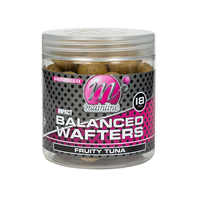 Mainline - High Impact Balanced Wafters - Fruity Tuna - 18mm