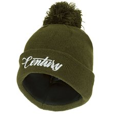 Century - NG Beanie With Bobble - Green