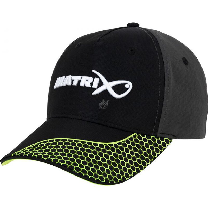 Fox Matrix - Grey/Lime Baseball Cap