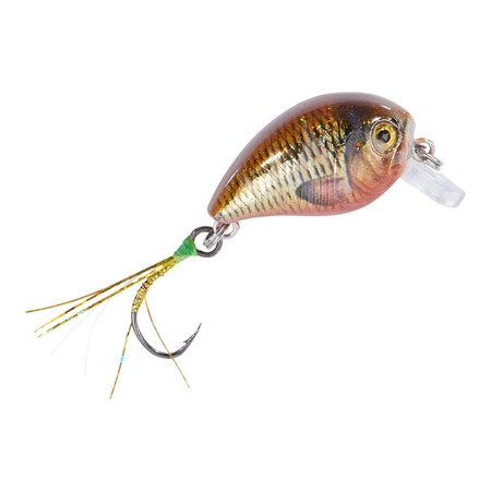Balzer - Trout Attack UV Confidential Crank Wobbler floating 2,3g - Rotfeder