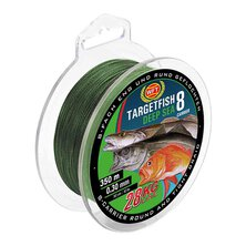 WFT - Targetfish 8 Deep Sea green 520m - 0,30mm 28kg