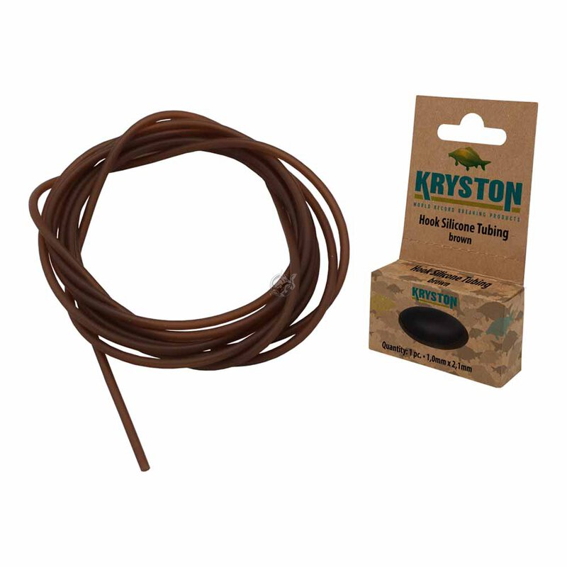 Kryston - Hook Silicone Tubing 1,0x2,1mm - Weed