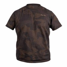 Avid Carp - Distortion Camo T-Shirt - Size L