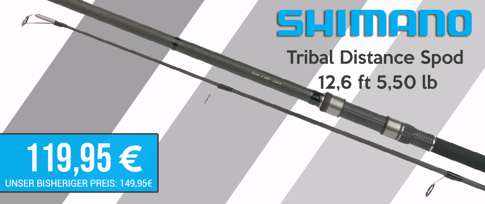Shimano Tribal Distance Spod 12ft 6inch 55lb